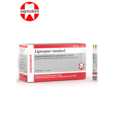 Septodont Materiales Dentales Anestesia Lignospan Lidocaina 2 % C/V